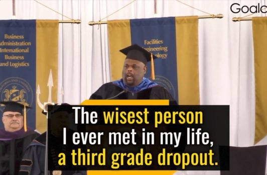 The Wisdom of a Third Grade Dropout Will Change Your Life